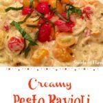 Pesto Ravioli