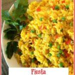 Saffron Rice in bowl