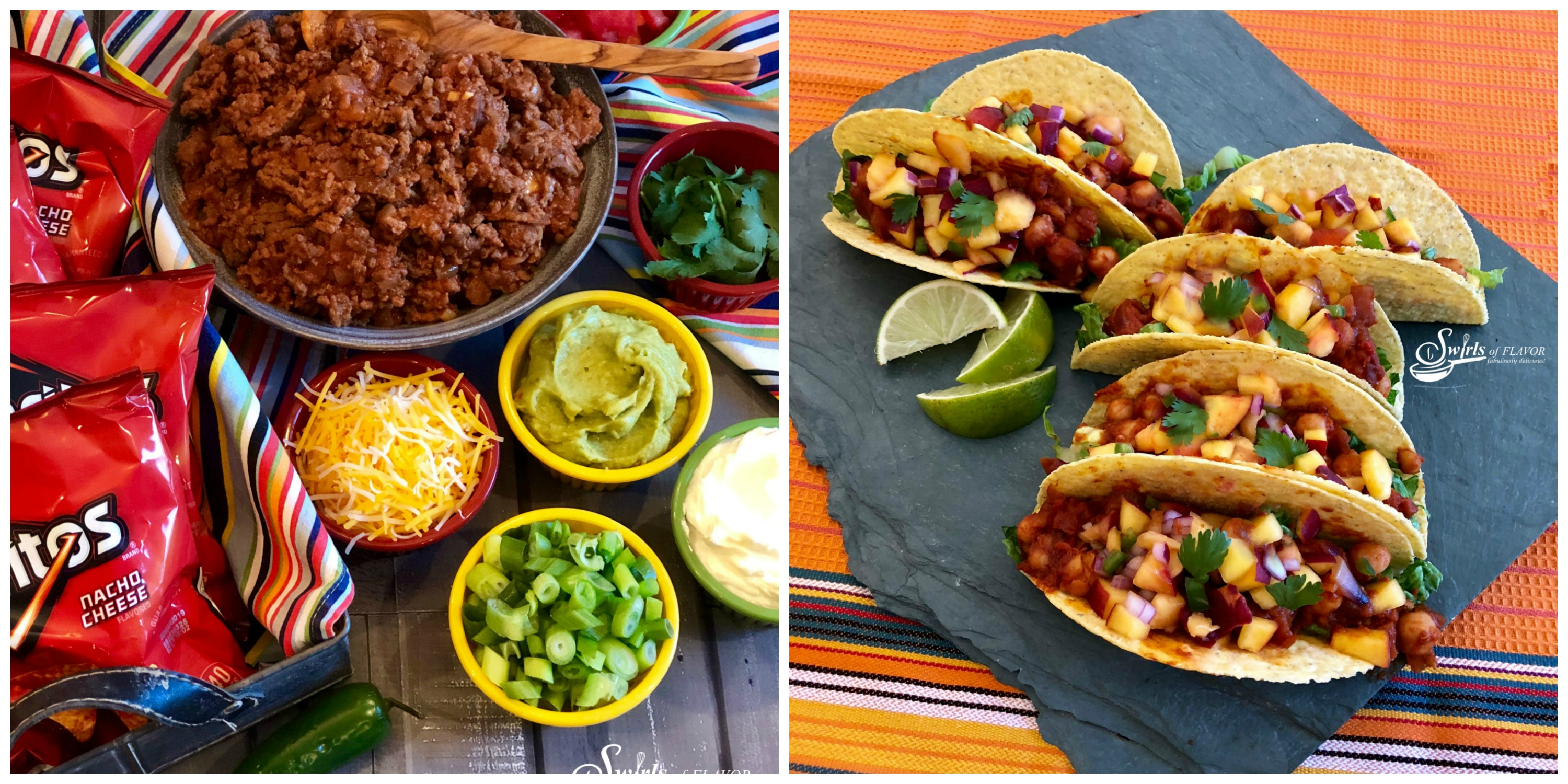 Walking Taco Bar and Vegan Tacos