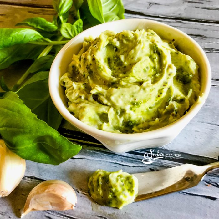 Basil Pesto Butter