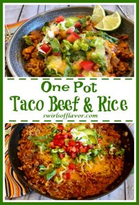 Taco Beef and Rice
