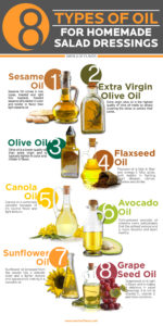 Oils for homemade salad drressings