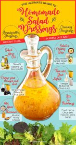 Guide to Homemade Salad Dressings