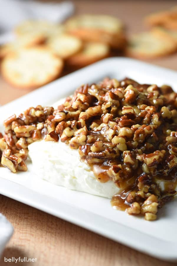 French Quarter Cheese Spread - easy and festive appetizer!
