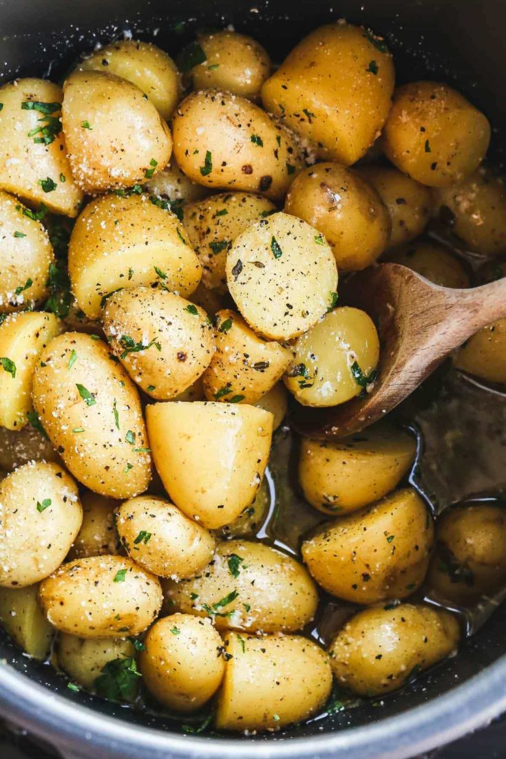 Instant Pot Buttered Potatoes