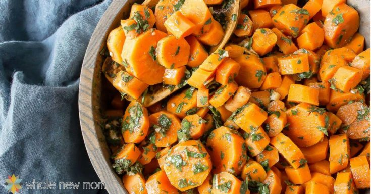 Moroccan Carrots--kid-friendly, vegan, gluten-free & whole30