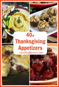 collage of appetizers with text overlay