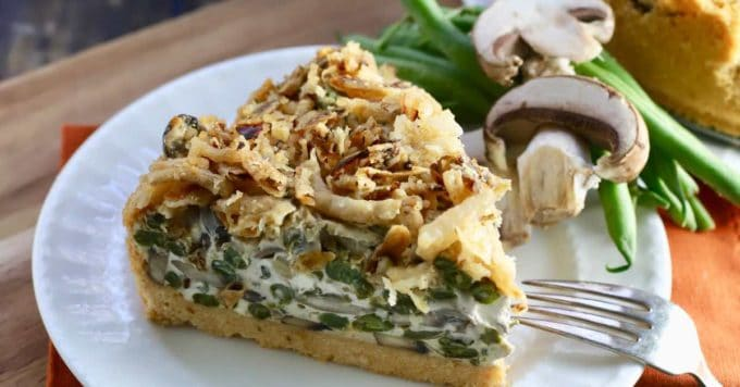 Green Bean Pie with Ritz Cracker Crust