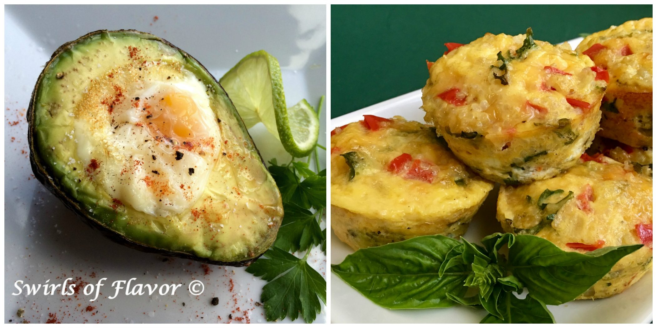 Egg in Avocado and Egg Muffins