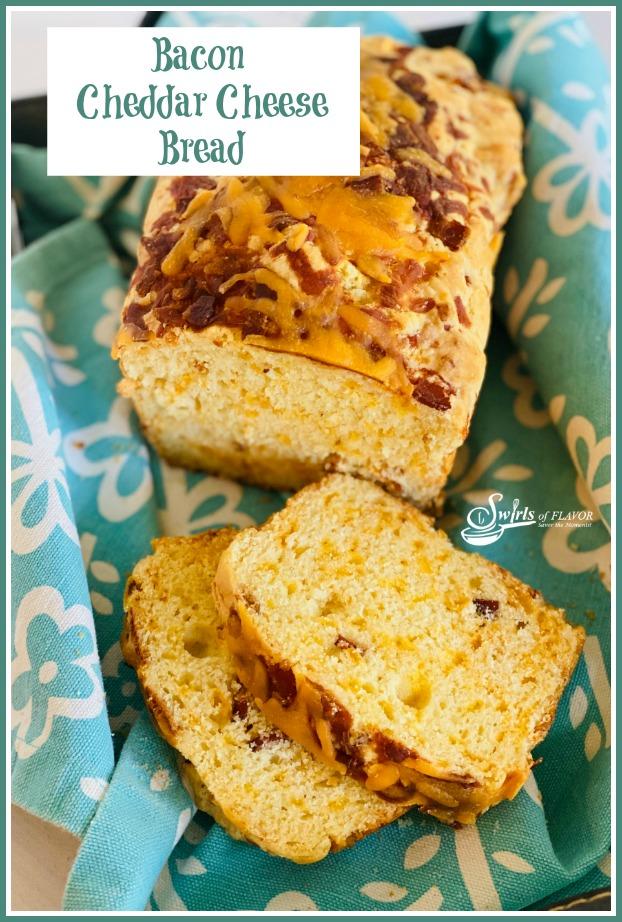 No Yeast Bacon Cheddar Cheese Bread Recipe