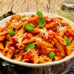 Instant Pot Penne Pasta With Homemade Pasta Sauce