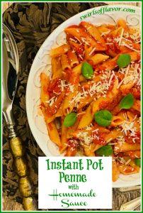 Instant Pasta Pot Penne