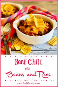 corn chips, bowls of chili and text overlay