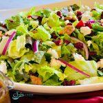 Cranberry Walnut Salad With Balsamic Vinaigrette