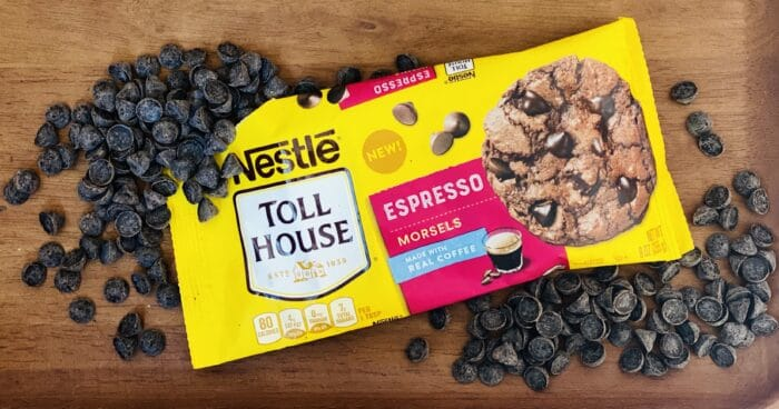 Nestle Toll House Espresso Morsels with package