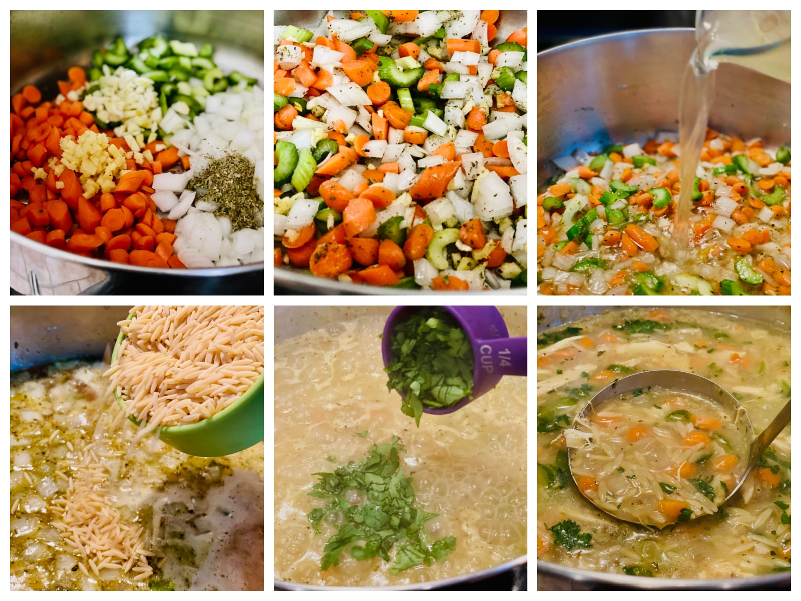 how to make orzo soup step by step
