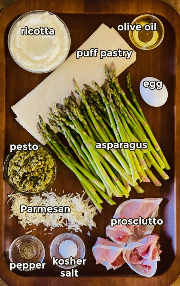 ingredients to make a tart recipe